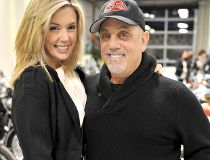 Alexis Roderick and Billy Joel.
