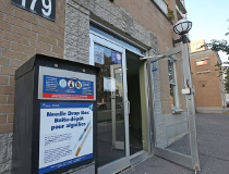 Ottawa Public Health's supervised injection site on Clarence Street