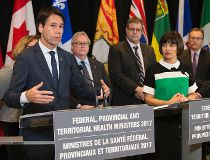 Ontario Health Minister Dr. Eric Hoskins