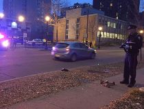 Police investigate stabbing downtown