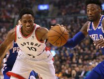 Toronto Raptors guard DeMar DeRozan
