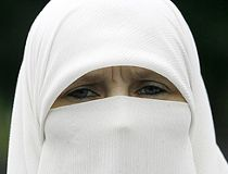 An example of a niqab. (REUTERS file)