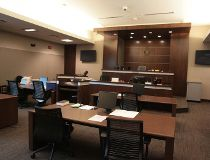 Court room, Calgary Courts Centre