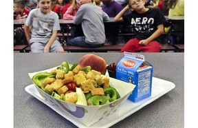 School lunches are supplied to some children in B.C. through a patchwork of funding sources.