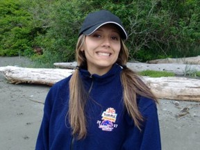 Const. Sarah Beckett, a 32-year-old West Shore RCMP constable, was killed early Tuesday, April 5, 2016 when a pickup slammed into her police cruiser in Langford on Vancouver Island.