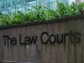The Law Courts in Vancouver.