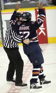 On and off the ice, Georges Laramie was a fan favourite.