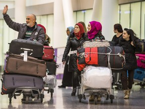 Mazen Khabbaz  and his family were among the many Syrian families who arrived in Toronto in the last four months.