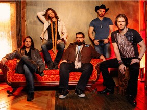 Country a cappella group Home Free plays at the Vogue Theatre on Wednesday, April 13.