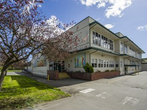 Grauer elementary school in Richmond has low enrolment, high operating costs and it needs a seismic upgrade. It is one of 16 Richmond schools identified for possible closure.