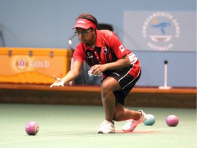Twenty-year-old Pricilla Westlake of Delta is rising star in lawn bowls, putting a lie to the notion that the sport is merely a relaxing social activity for geezers and grey hairs.