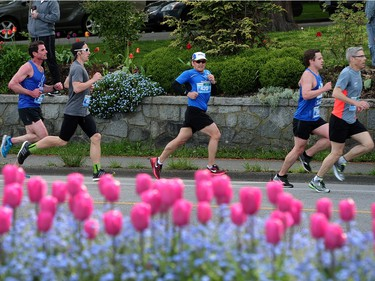 A total of 43,372 runners officially were registered for the event, an increase of six per cent from last year.