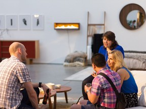 Address features furniture and decor by 18 local artists at Waterfront Gallery this weekend.