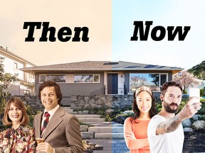 According to the report, younger Canadians are having a tougher go at the real estate market than previous generations.