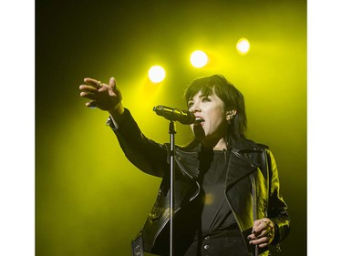 Carly Rae Jepsen opens for  with the pop rock band Hedley performs in concert at Rogers Arena. , May 20 2016.
