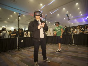 International Consumer Virtual Reality Exhibition [PNG Merlin Archive]