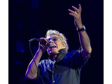 VANCOUVER May 13 2016.  The Who's Roger Daltrey performs in concert at Rogers Arena, Vancouver, May 13 2016.
