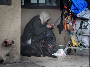 A total of 1,847 people were found sheltered or living on the street in March during the city's annual homeless count.