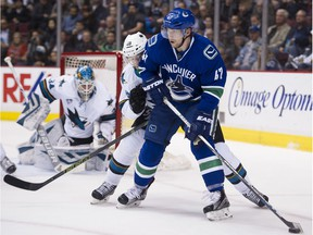 Sven Baertschi's solid season has landed him a two-year contract extension.
