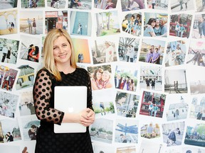 Flytographer Founder and CEO Nicole Smith in the company's Victoria-based office.