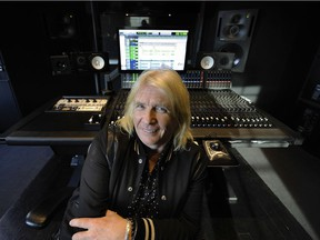 Vancouver B.C. June 5, 2016 Long time legendary music producer Bob Rock inside of Warehouse studio in Vancouver on June 5, 2016. Mark van Manen/ PNG Staff photographer see Dana Gee-Province , Vancouver Sun / Entertainment Features stories Web. stories. 00043463A [PNG Merlin Archive]