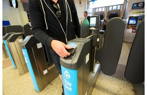 Transit users in Metro Vancouver are being urged to get an electronic Compass card by the end of this month, as TransLink prepares to put all of its faregates into operation in early April.