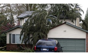 One dead after serious storms