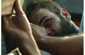 Rossif Sutherland's John Lake spends much of River as a fugitive trying to reach a friendly embassy.