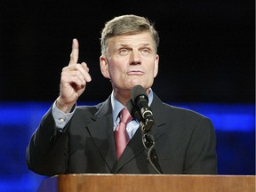 Christian evangelist Franklin Graham is coming to Vancouver for the Festival of Hope in early March, 2017.