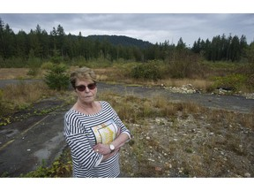 Lynne Commodore on a 29-acre parcel of land on the Cultus Lake Indian band that she owns through a federal certificate of possession. Commodore and her late husband Earl hoped to develop the land but the band is unwilling to give its approval.