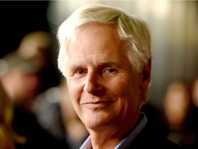 """Executive producer/director Chris Carter arrives at the premiere of Fox's """"The X-Files"""" at the California Science Center on January 16, 2106 in Los Angeles, California."""