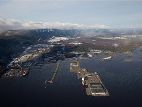 The Douglas Channel at Kitimat, the West Coast terminus for the proposed Northern Gateway pipeline. The federal government joined Enbridge Inc. on Tuesday in deciding not to appeal a Federal Court of Appeal ruling that quashed a 2014 Conservative government decision to approve the $7.9-billion pipeline.