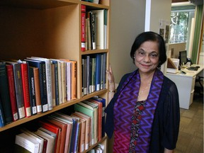 Mandakranta Bose is director of UBC's Centre for India and South Asia Research (CISAR).
