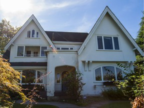 Pictured is a home at 4200 West 8th Ave in Point Grey, a property bought by a purchaser listed as a student in property docs, who flipped it 10 months later for more than a $1 million profit in Vancouver, BC, September, 14, 2016. (Richard Lam/PNG)