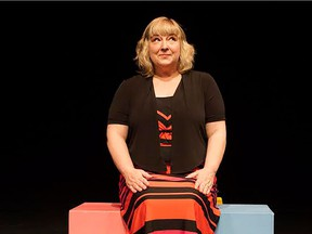 Nicolle Nattrass stars in her one-woman show Mamahood: turn and face the strange at the Firehall Arts Centre from Oct. 18-29.