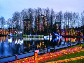 The Lights at Lafarge Winter Lights Display is at Town Centre Park in Coquitlam vuntil Jan. 22.
