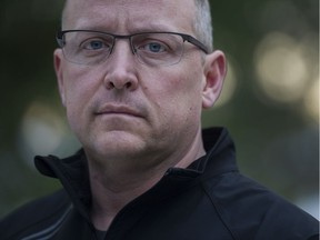 Bob Parkinson, is the director of health and wellness for the Ambulance Paramedics and Emergency Dispatchers of BC, North Vancouver, December 21 2016.