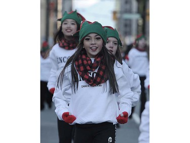 Scenes from the The Rogers Santa Claus Parade on Howe St, in Vancouver, B.C., December 4, 2016.