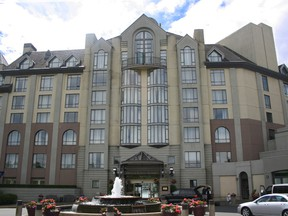 The Delta Victoria Ocean Pointe Beach Resort and Spa. is among the B.C. Investment Management Corp. hotels that are being sold to a Chinese company.