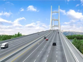 Massey Tunnel Replacement Project - screengrab from Government of BC video.