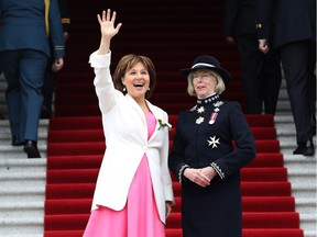 File photo: Premier Christy Clark will use what could be her government's final throne speech Thursday to offer a host of social reforms, including hikes to the welfare and disability rates.