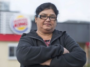Usha Ram was fired from her job at Burger King on Granville Street in Vancouver because of a miscommunication about taking food home after her shift. Ram sued the franchise and was awarded $46,000 in a wrongful dismissal suit.