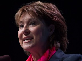 Premier Christy Clark delivered the keynote address at last week's B.C. Tech Summit in Vancouver.