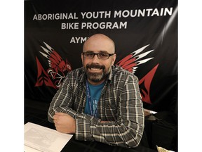 Patrick Lucas says the Aboriginal Youth Mountain Bike Program has helped build bike parks and trails in 24 First Nations communities in BC. and has taught him how to listen 'and learn what it means to be an ally.'