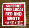 """Support sticker for new Hells Angels """"Hardside"""" chapter"""