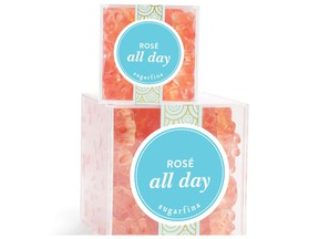 We like the sound of Rose All Day. Sugarfina rose infused gummy bears.
