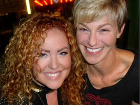 Karen Lee Batten headlined the Motown Meltdown concert that benefitted Seva Canada represented there by executive director Penny Lyons.