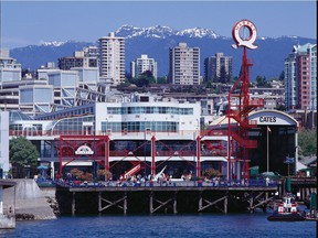 Lonsdale Quay in North Vancouver, destination for the passenger SeaBus ferry and the on-foot gateway to the North Shore. The area was the only one in Metro Vancouver that saw a decline in homelessness from the previous count in 2014.