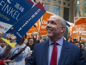 A Mainstreet/Postmedia poll suggests that NDP Leader John Hogan won the night as the respective leaders held a TV debate on Wednesday.