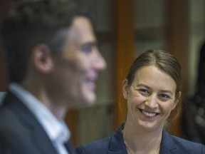 Vancouver's newly appointed Chief Resilience Officer Katie McPherson was introduced by Mayor Gregor Robertson earlier this month.